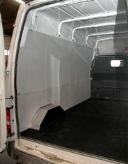 Van Extras installs Interior Protection for Transit Ford in New Zealand