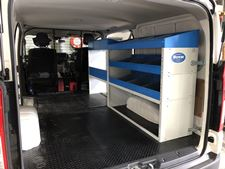 08_Shelving Units for HiAce equipped by Syncro New Zealand