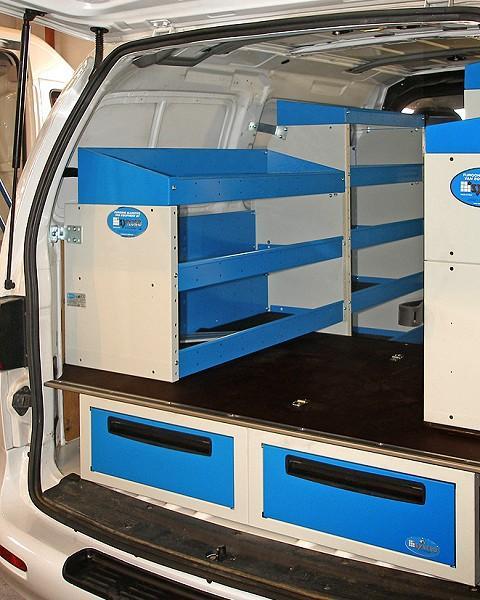 Van Racking Hyundai Iload
