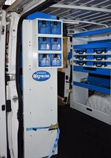 03_Accessories and storage compartments in a refrigeration service's Ducato