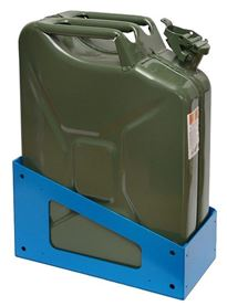 Steel Canister for Transporting Liquids in Vans