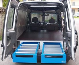 02_In New Zealand under floorboard Drawer Units for Vans are available from Van Extras