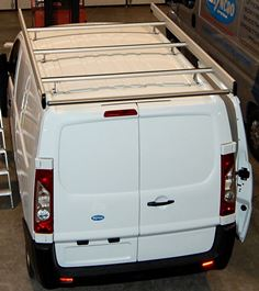 05_Roof rack mounted on the Scudo by Syncro New Zealand