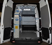 01_The boiler installer's Opel Vivaro, with racking by Syncro New Zealand