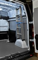 03_The boiler installer's Vivaro with an internal ladder retaining system