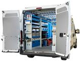 04_A large van with Syncro Ultra racking – left side