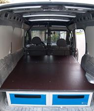 01_Under Floorboard Drawer Cabinets for Vans in New Zealand