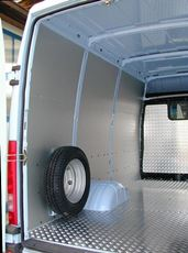Floor Protection for Daily Iveco from Van Extras