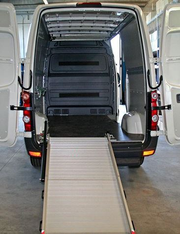 Loading Ramp for Vans, available for Crafter from Van Extras