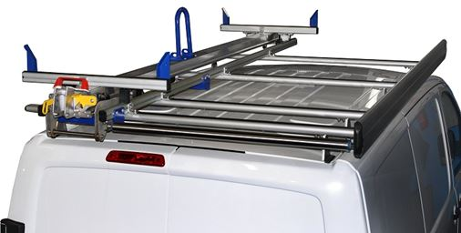 21_A ladder rack on a Vivaro