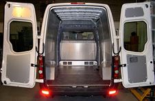 Side Lining and Floor Cover for Mercedes Sprinter