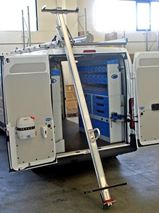 In New Zealand from Van Extras, Ladder Holders and Tube Carrier for Ducato Fiat