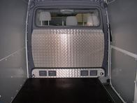 Cover for the Bulkhead on Mercedes Sprinter