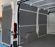 Side Cladding for Van inside Ducato Fiat equipped by Van Extras