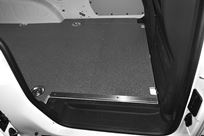 3_Marble-look floor liners for Caddy Vw