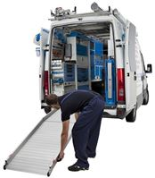 Van with Loading Ramp from Van Extras